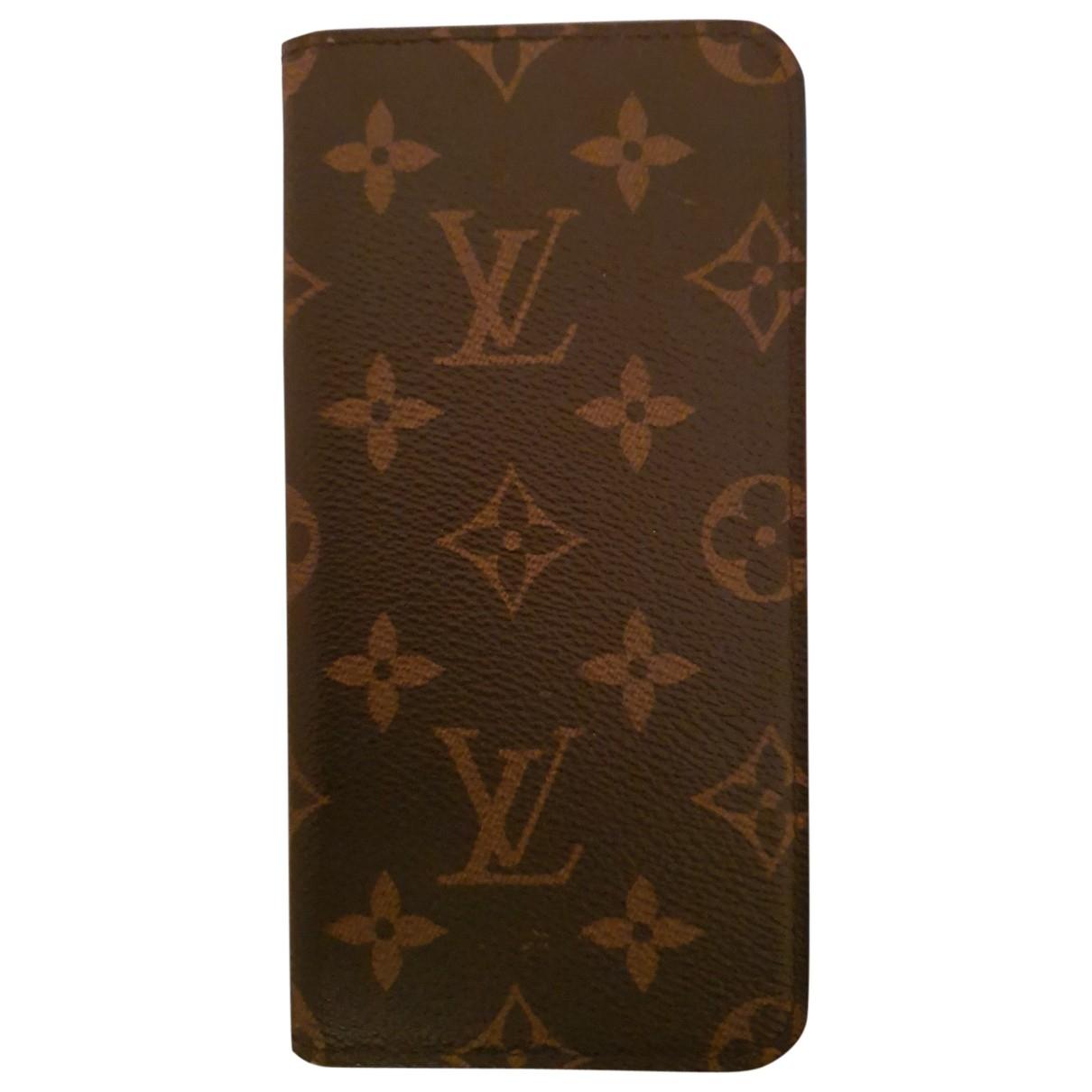 Louis Vuitton \N Brown Cloth Accessories for Life & Living \N