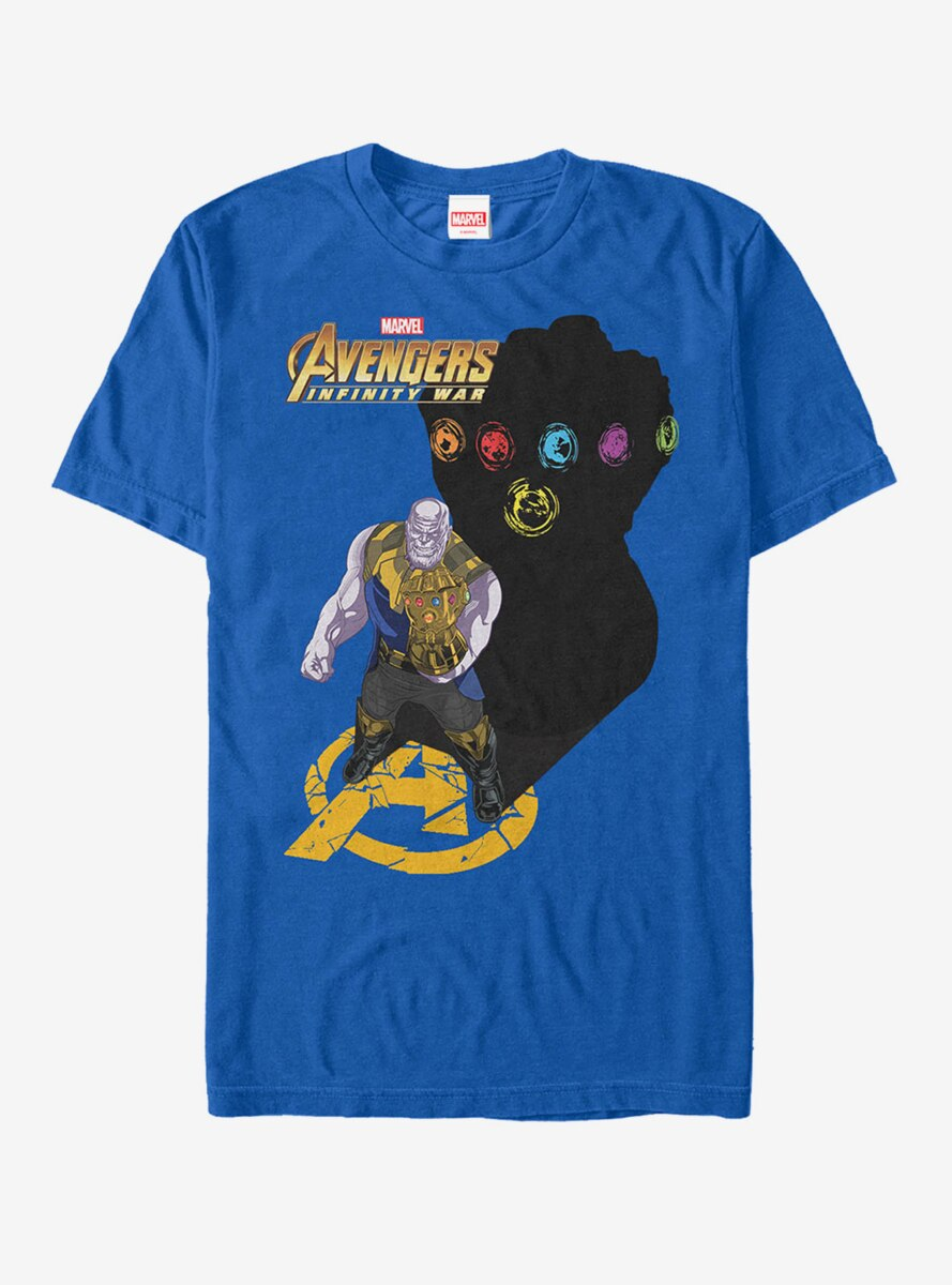 Marvel Avengers: Infinity War Thanos Shadow T-Shirt