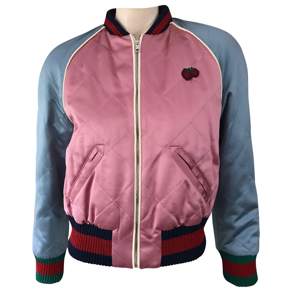 Gucci \N Pink Silk jacket for Women 42 IT
