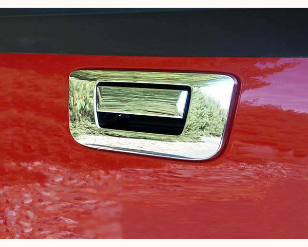 Quality Automotive Accessories ABS | Chrome Tailgate Handle Cover Kit Chevrolet Silverado 2500 2009