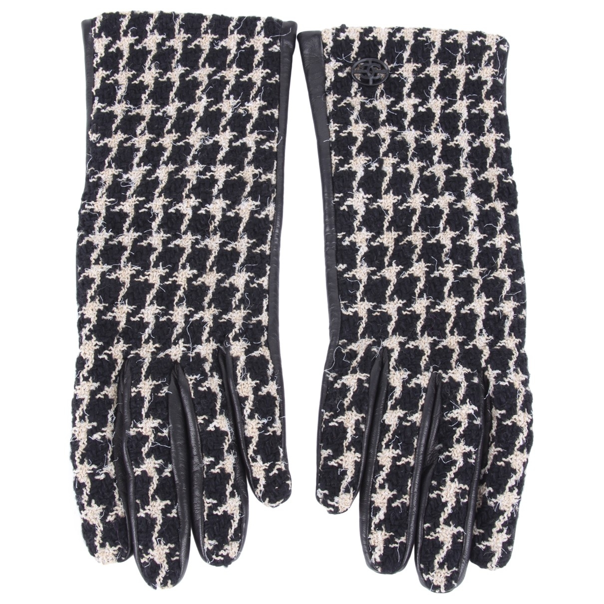 Chanel \N Black Tweed Gloves for Women S International