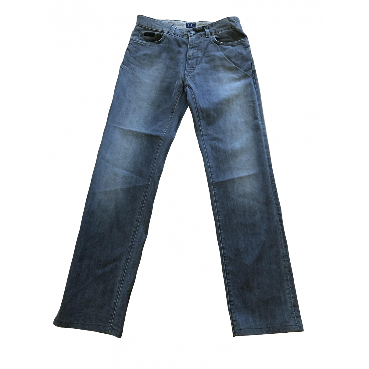 Trussardi Jeans \N Grey Cotton - elasthane Jeans for Men 32 US