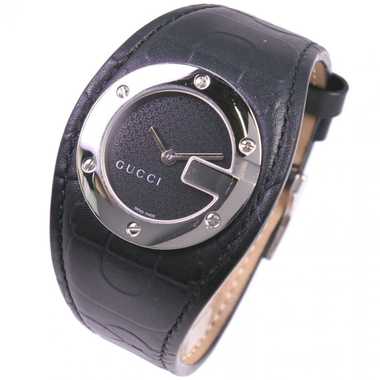 Gucci Twirl Black Steel watch for Women \N