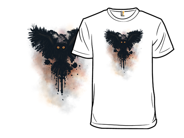 Black Owl T Shirt