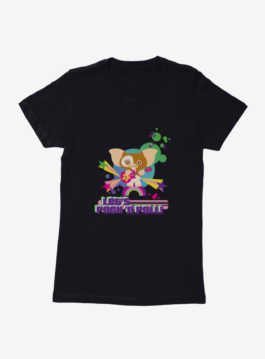 Gremlins Let's Rock N Roll Womens T-Shirt