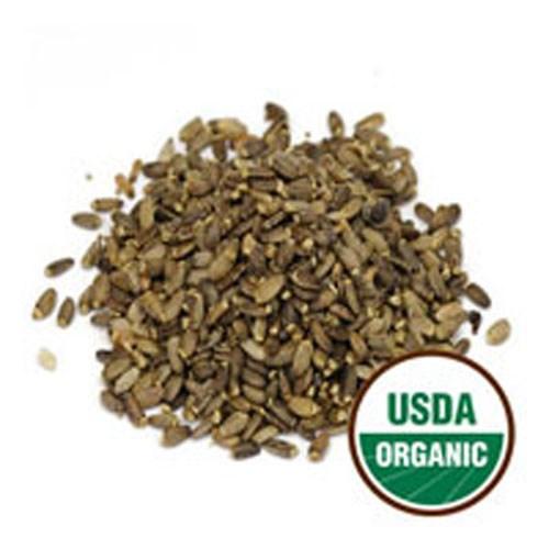 Organic Milk Thistle Seed 1 Lb by Starwest Botanicals