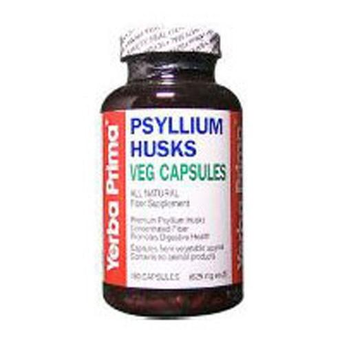 Psyllium Husks 180 Vcaps by Yerba Prima