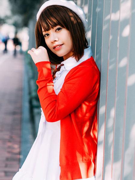 Milanoo Saekano How To Raise A Boring Girlfriend Katou Megumi Cosplay Costume Halloween