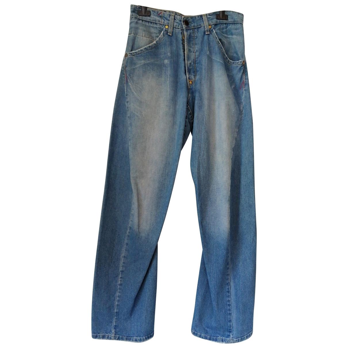 Levi's \N Blue Cotton Jeans for Men 30 US