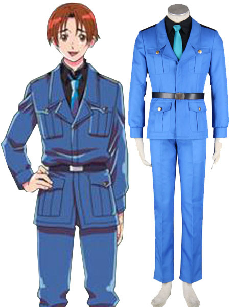 Milanoo Axis Powers Hetalia Italy Cosplay Costume Halloween