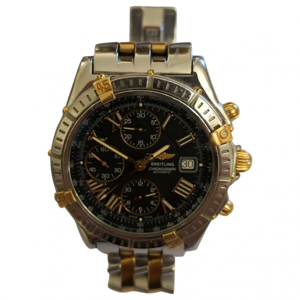 Breitling \N gold and steel watch for Men \N