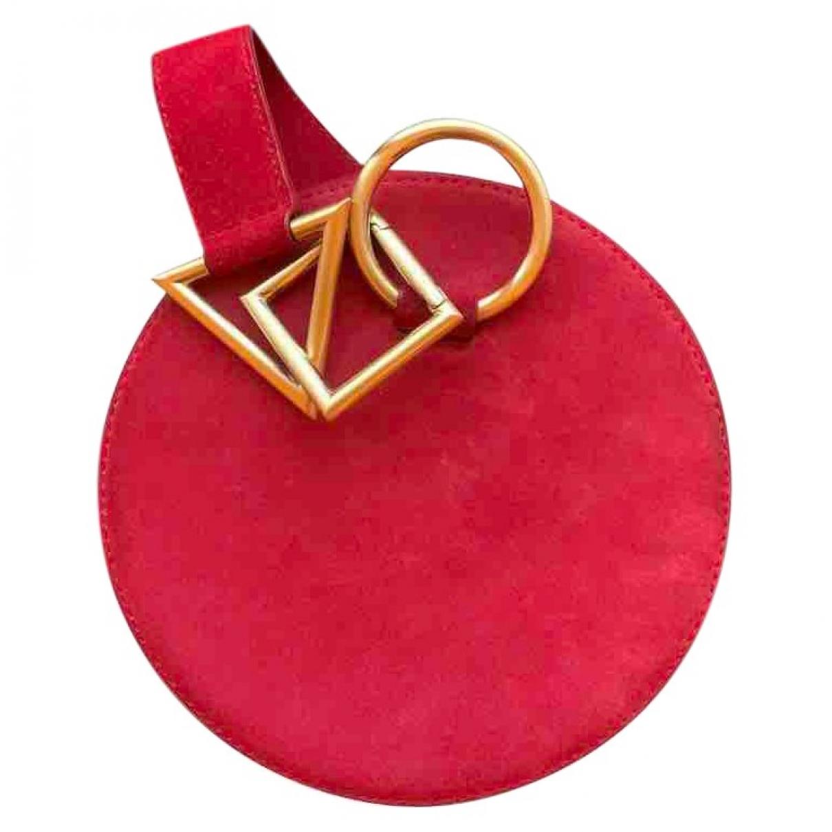 Tara Zadeh \N Red Suede handbag for Women \N