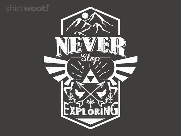 Legendary Explorer T Shirt