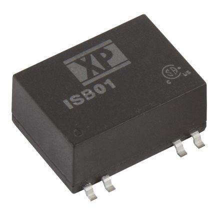XP Power ISB 1W Isolated DC-DC Converter Surface Mount, Voltage in 4.5 → 9 V dc, Voltage out 5V dc
