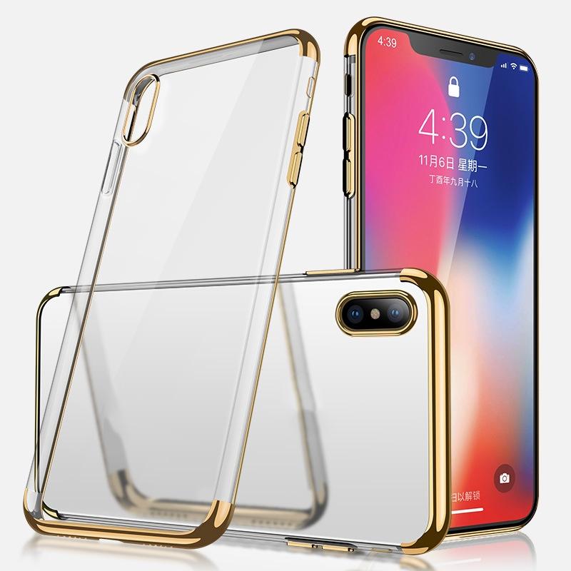 Ericdress Transparent Soft Mobile Phone Case Iphone X