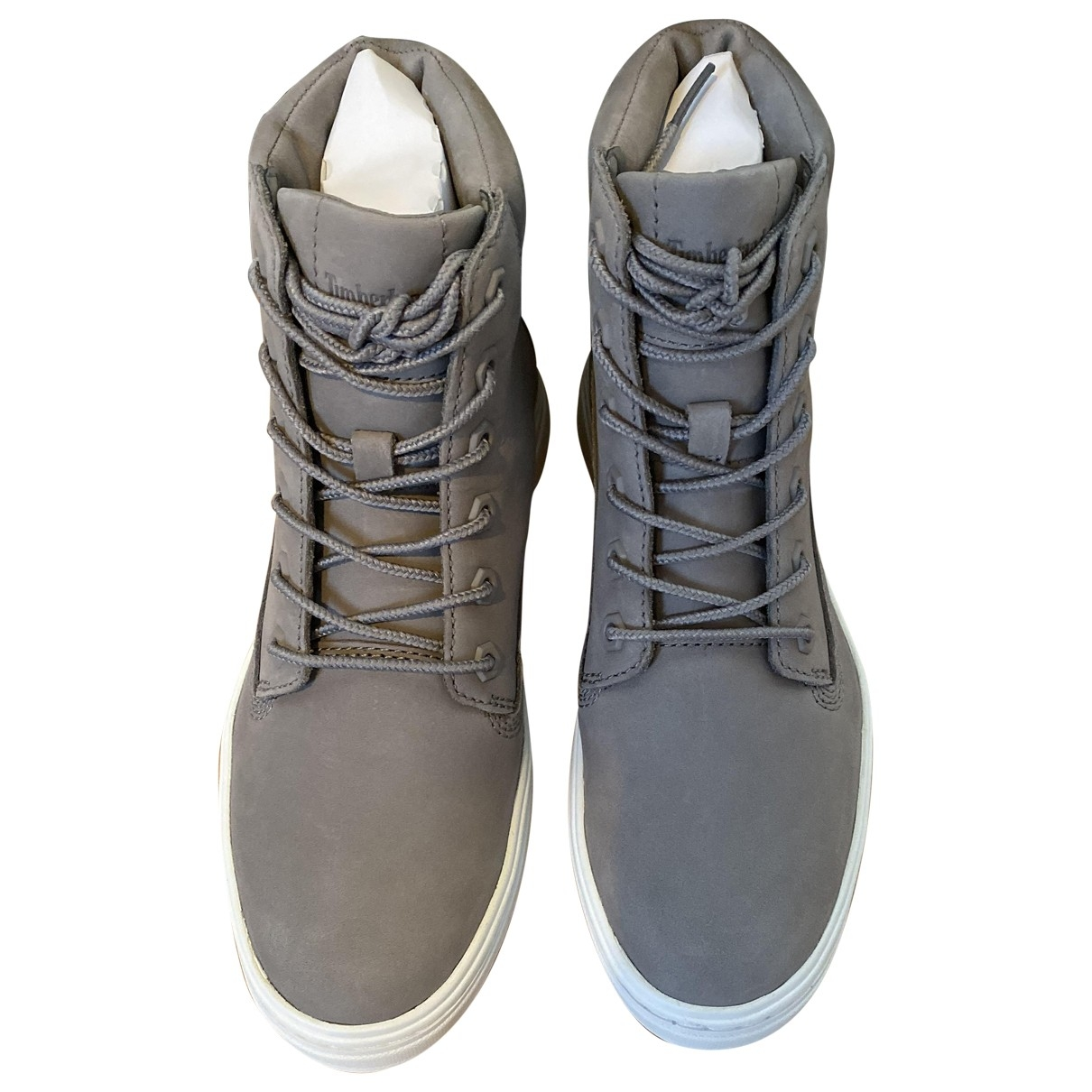Timberland \N Grey Suede Trainers for Women 37 EU