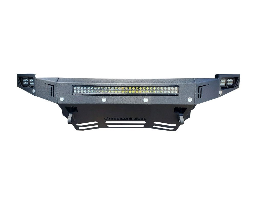 Chassis Unlimited CUB900421 Sierra Front Bumper For 16-18 Sierra 1500 Sensors Not Included Octane Series