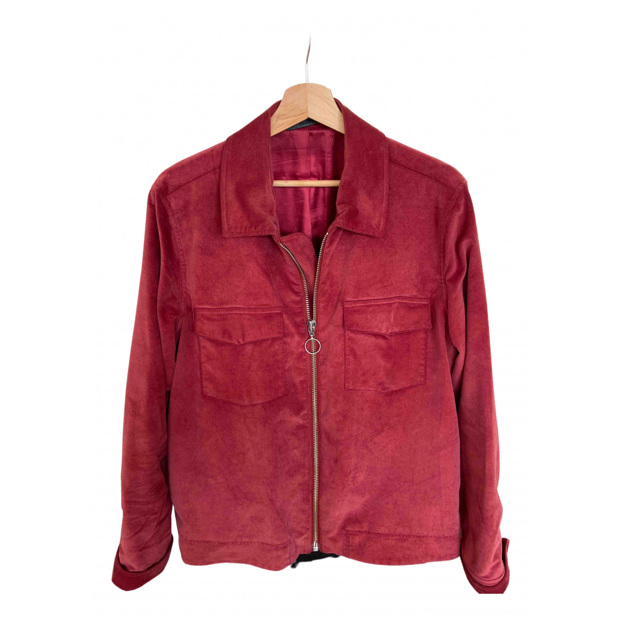 Samsoe & Samsoe \N Burgundy Cotton jacket  for Men M International