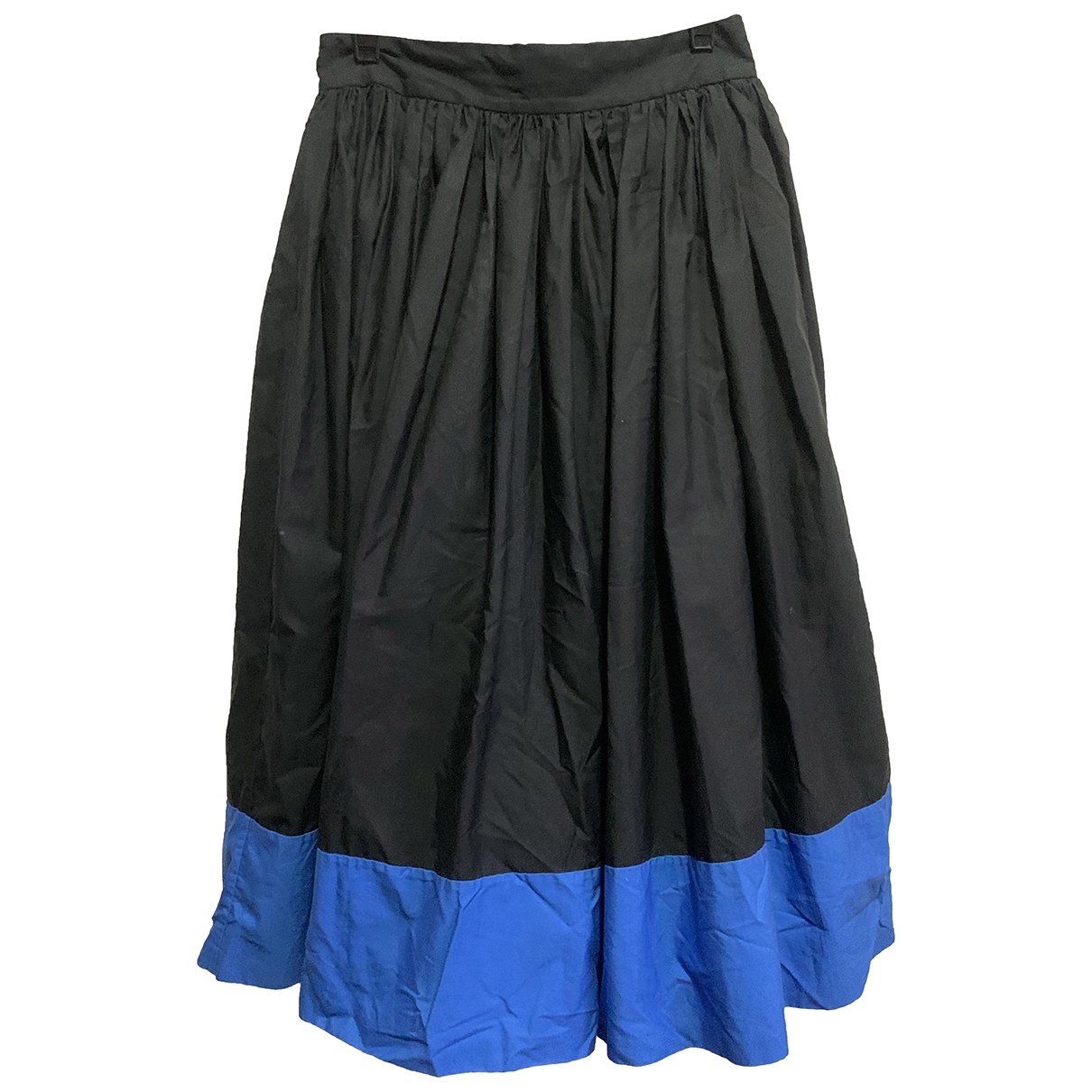 Alice & Olivia \N Black Cotton skirt for Women 2 0-5