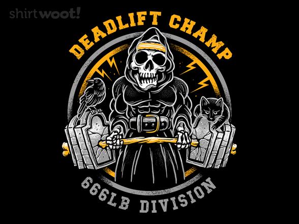 Deadlift Champ Long Sleeve Tee