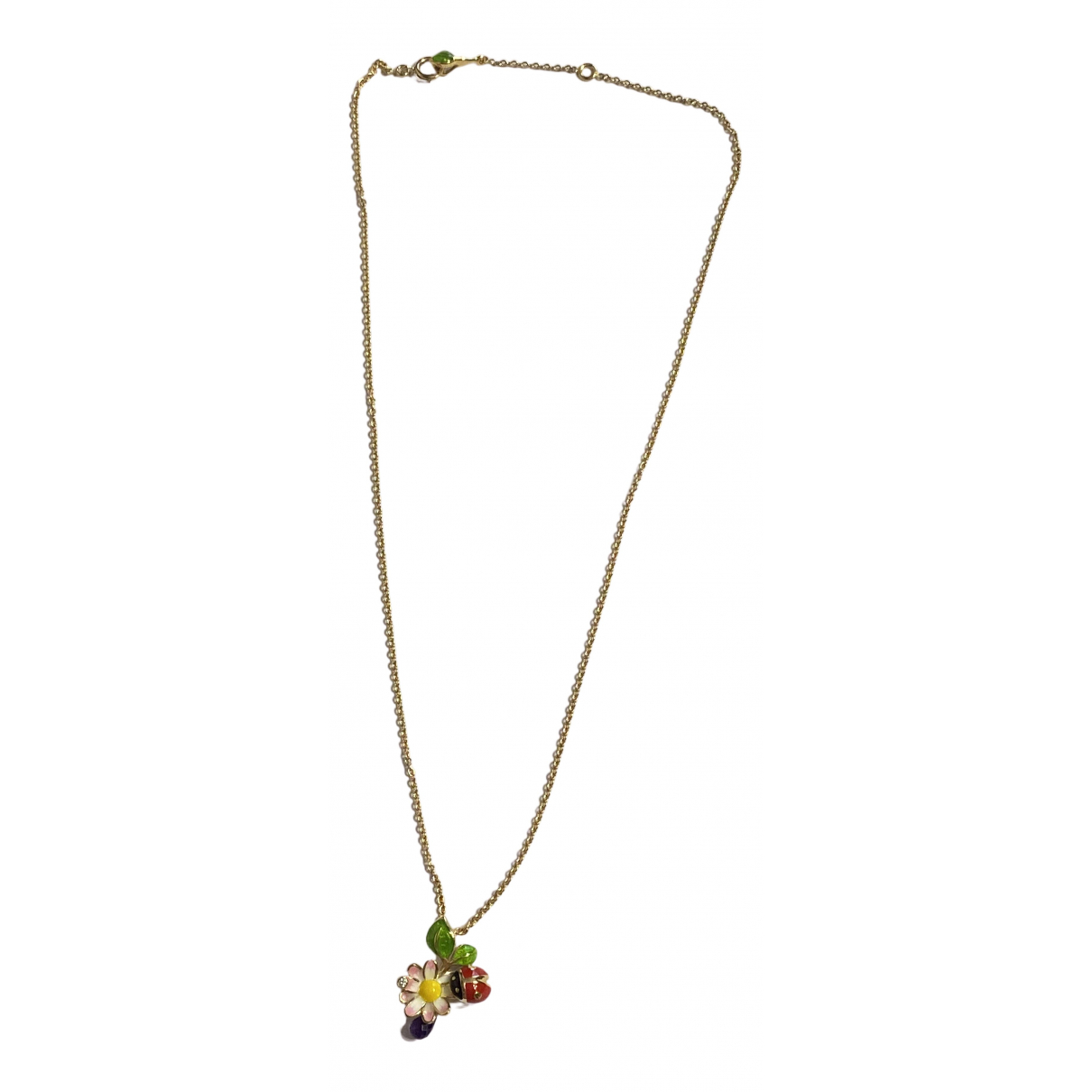 Dior Diorette Yellow gold necklace for Women \N