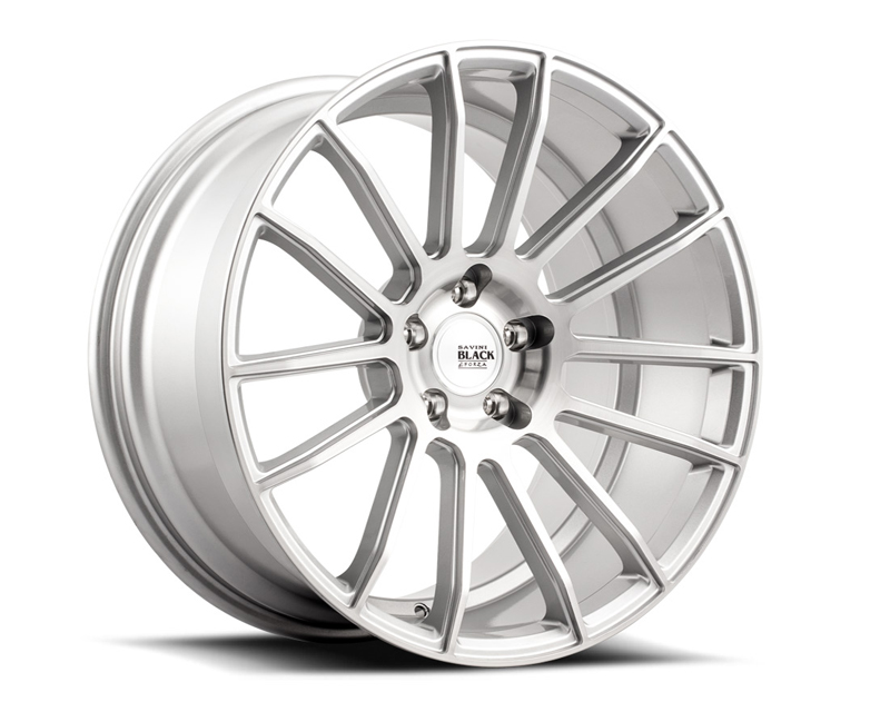 Savini BM09-19095512R4057 di Forza Brushed Silver BM9 Wheel 19x9.5 5x112 40mm