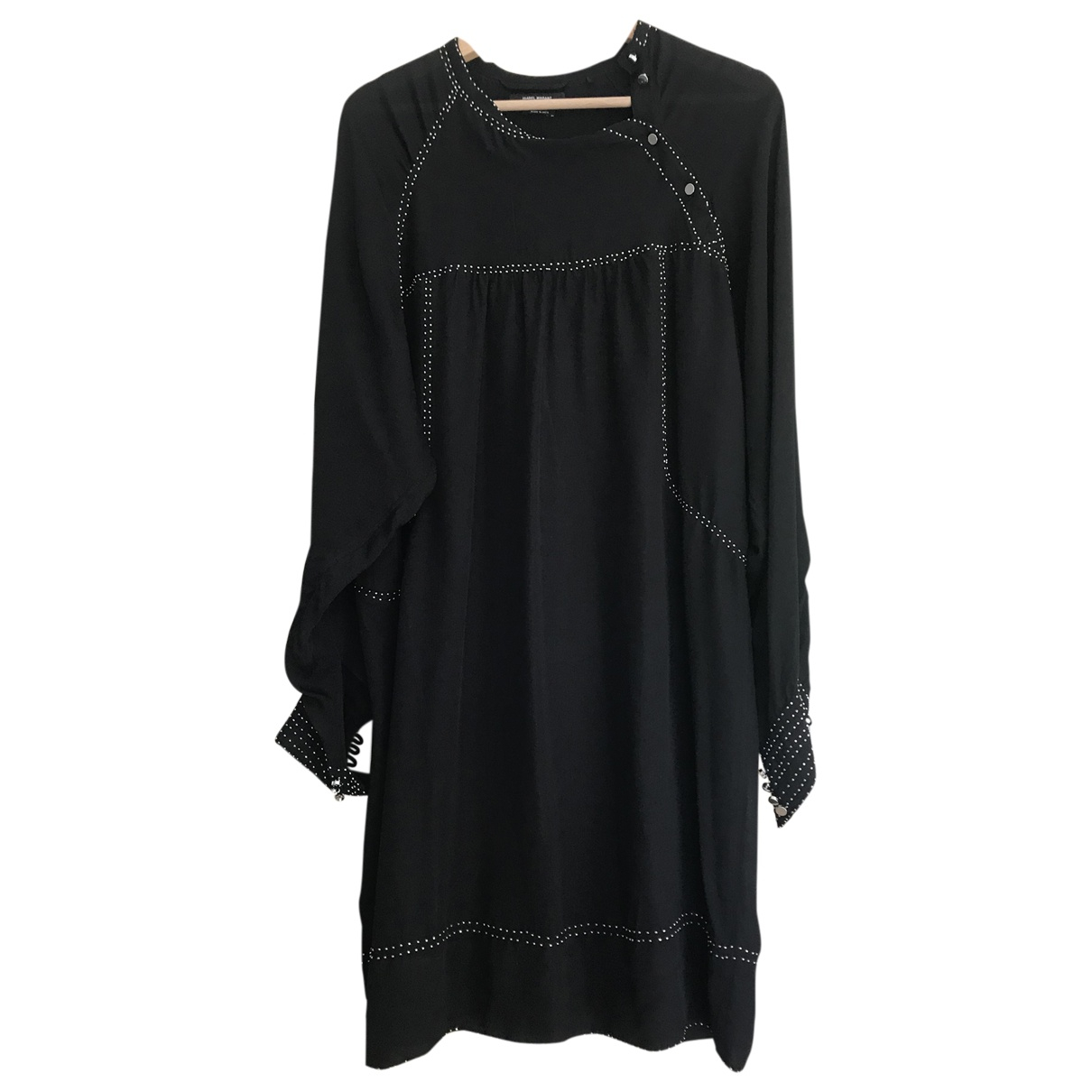 Isabel Marant \N Black Silk dress for Women 38 FR
