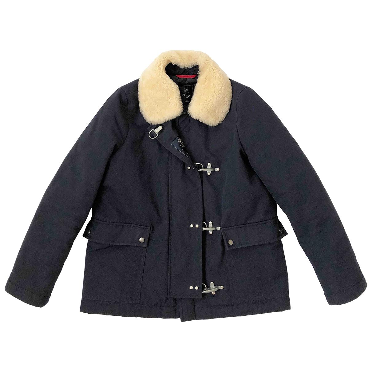Fay \N Blue Cotton jacket for Women S International