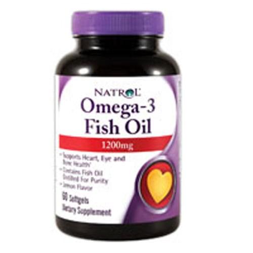 Omega 3 60 Softgels by Natrol