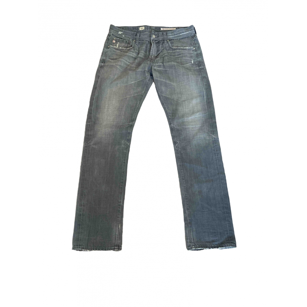 Adriano Goldschmied \N Grey Cotton Jeans for Men 32 US