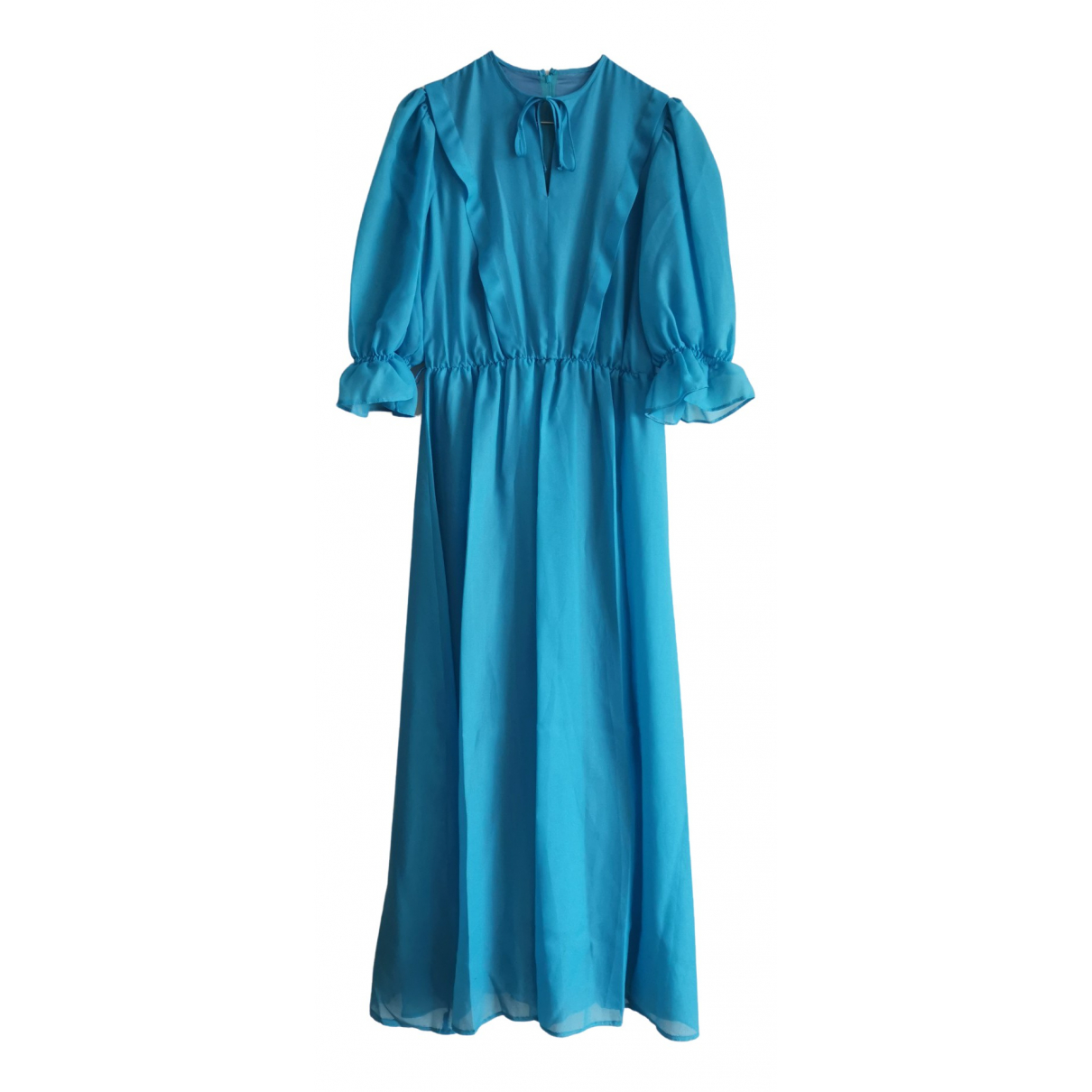 Non Signé / Unsigned \N Blue dress for Women 38 FR