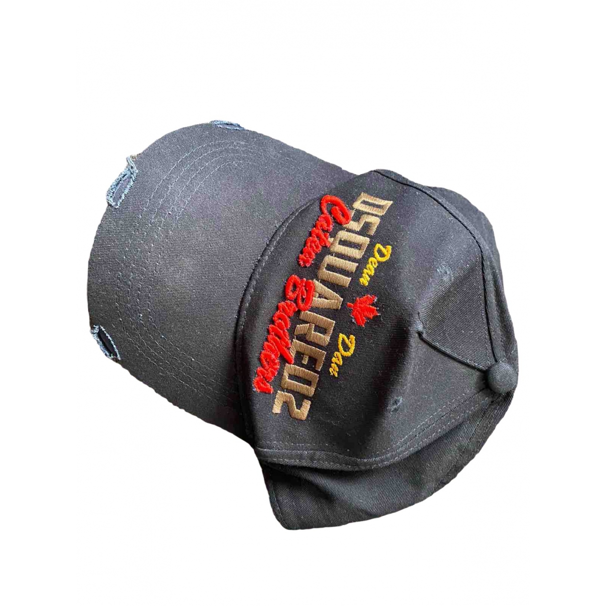 Dsquared2 \N Navy Cotton hat & pull on hat for Men M International