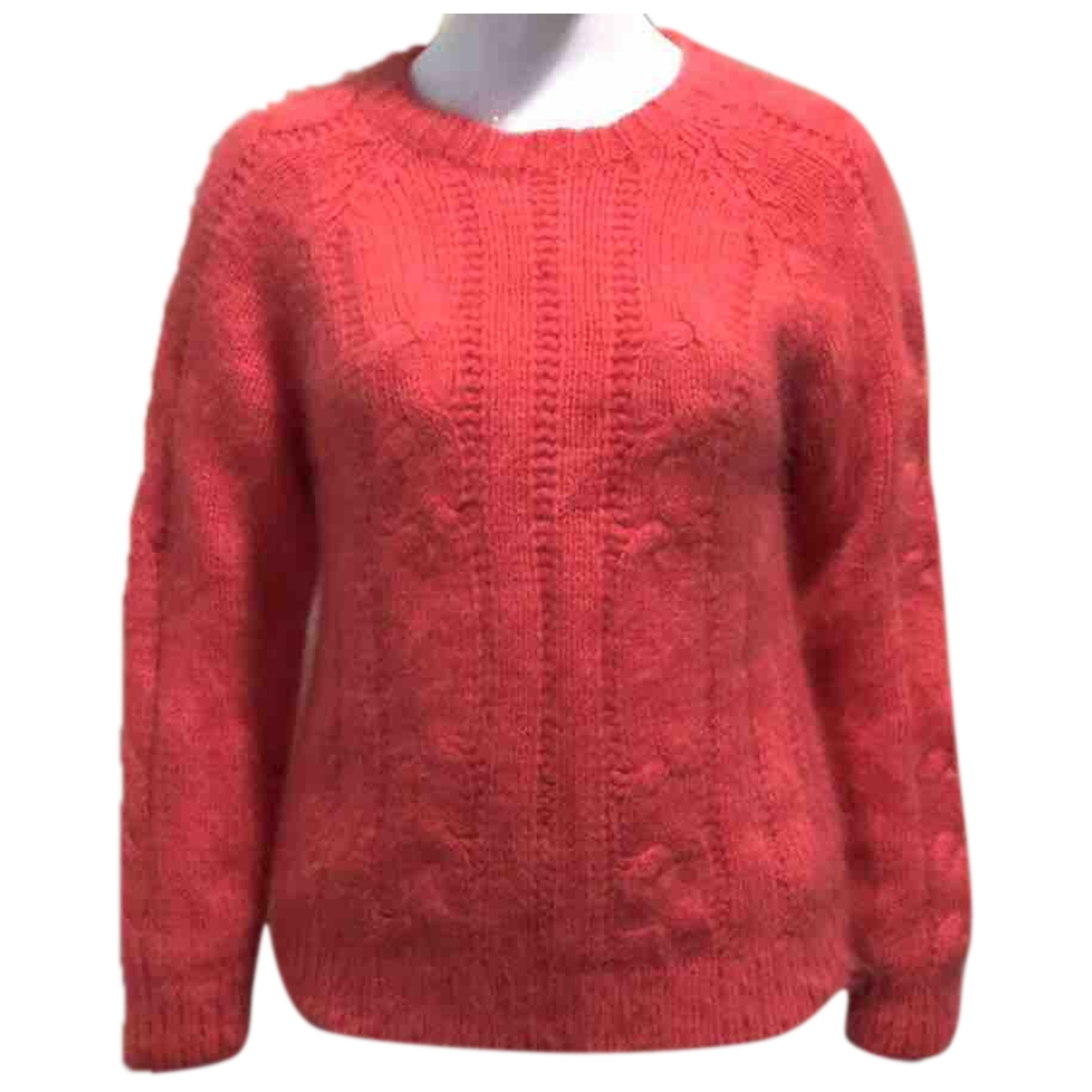 Balmain \N Pink Wool Knitwear for Women 38 FR