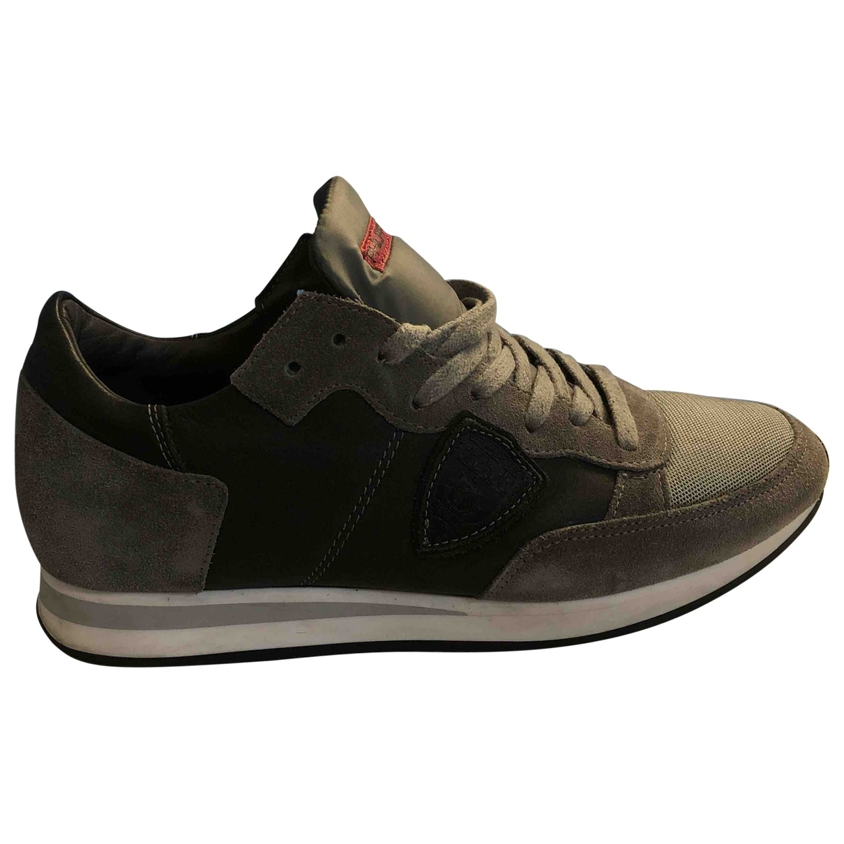 Philippe Model \N Grey Suede Trainers for Women 38 EU