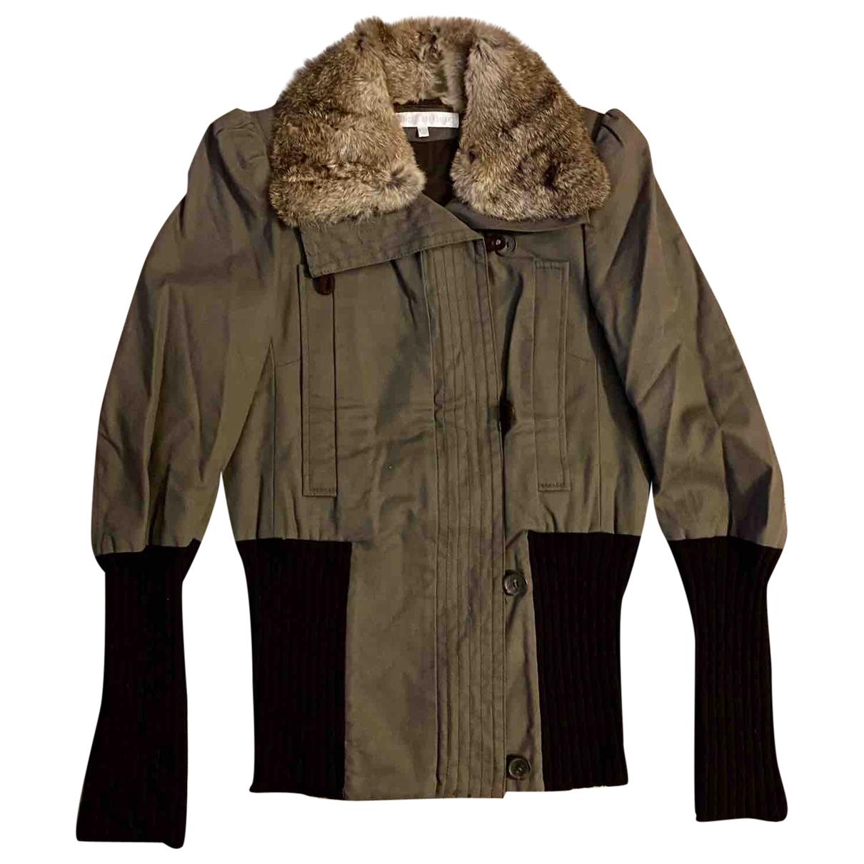 Véronique Branquinho \N Khaki Cotton jacket for Women 38 FR