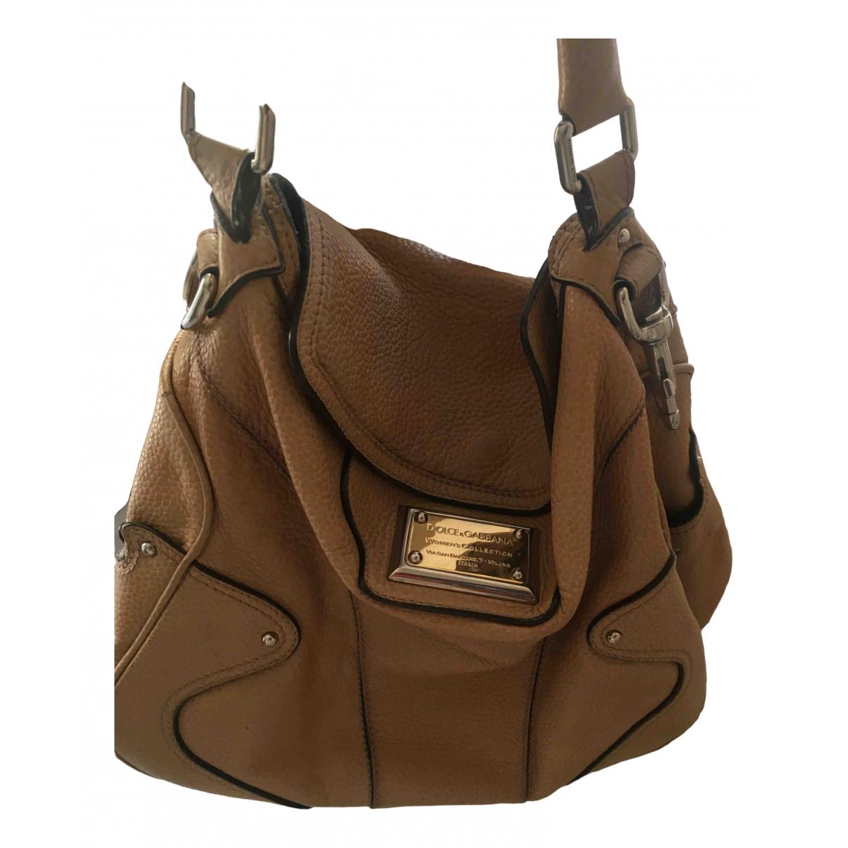 Dolce & Gabbana \N Yellow Leather handbag for Women \N