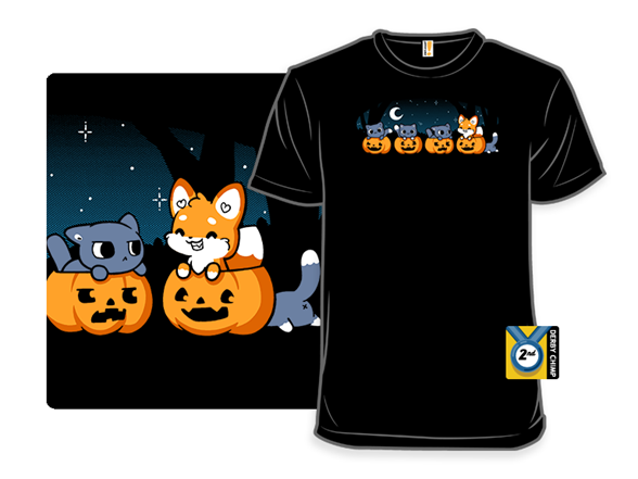 The Halloween Fox T Shirt