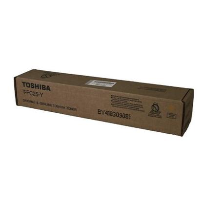 Toshiba T-FC25Y Original Yellow Toner Cartridge