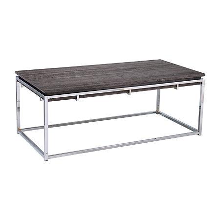 Southern Enterprises Pherd Coffee Table, One Size , Black