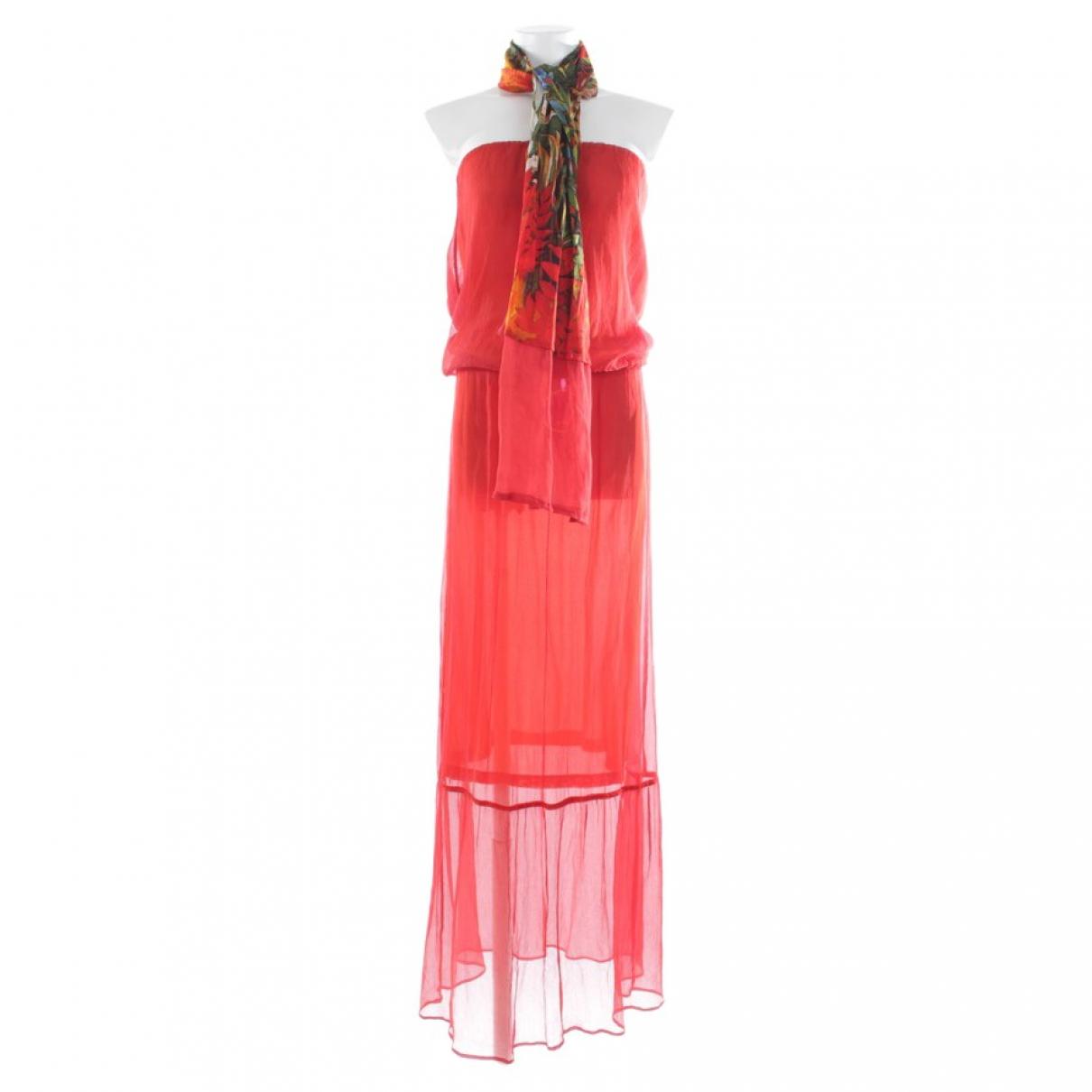 Autre Marque \N Red Cotton dress for Women S International
