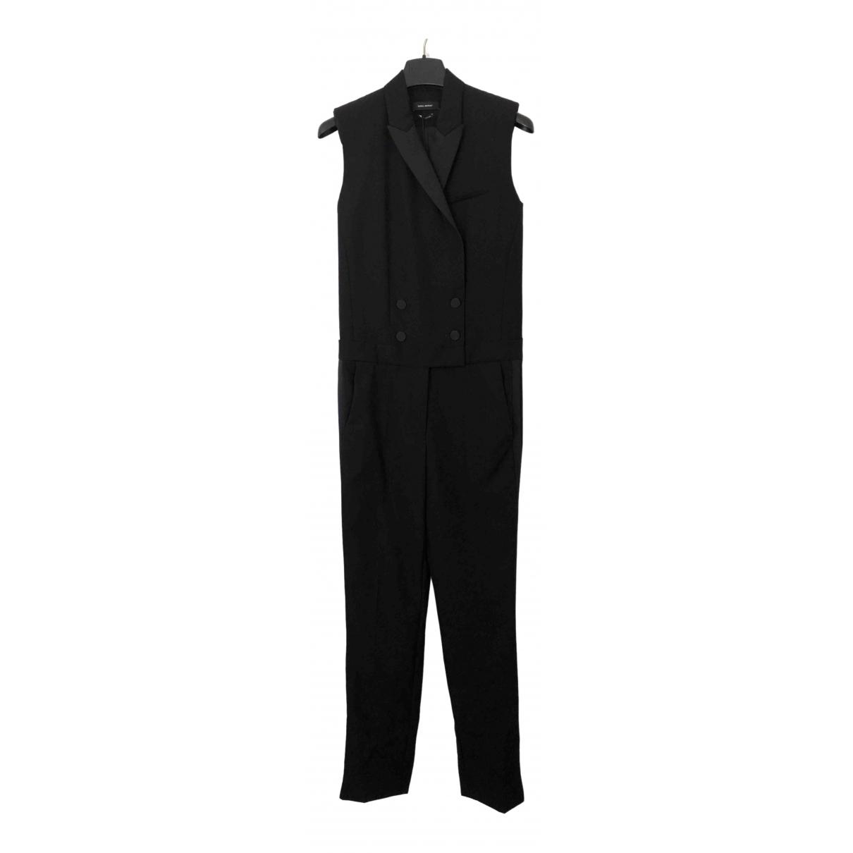 Isabel Marant \N Black Wool jumpsuit for Women 36 FR