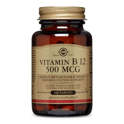 Vitamin B12 100 Tabs by Solgar