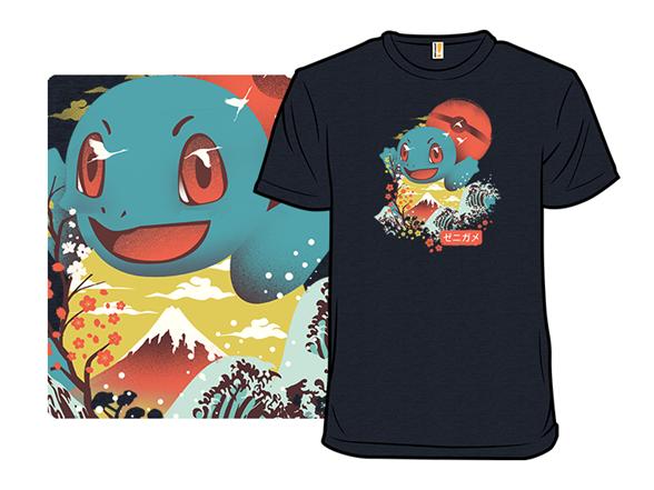 Joyful Wave Monster T Shirt