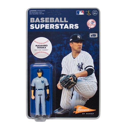Major League Baseball Modern Masahiro Tanaka (NY Yankees) 3 3/4-Inch ReAction Figure