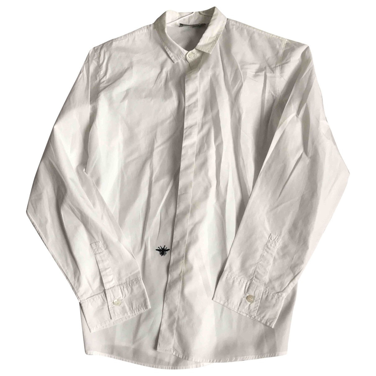 Dior \N White Cotton  top for Kids 12 years - XS FR