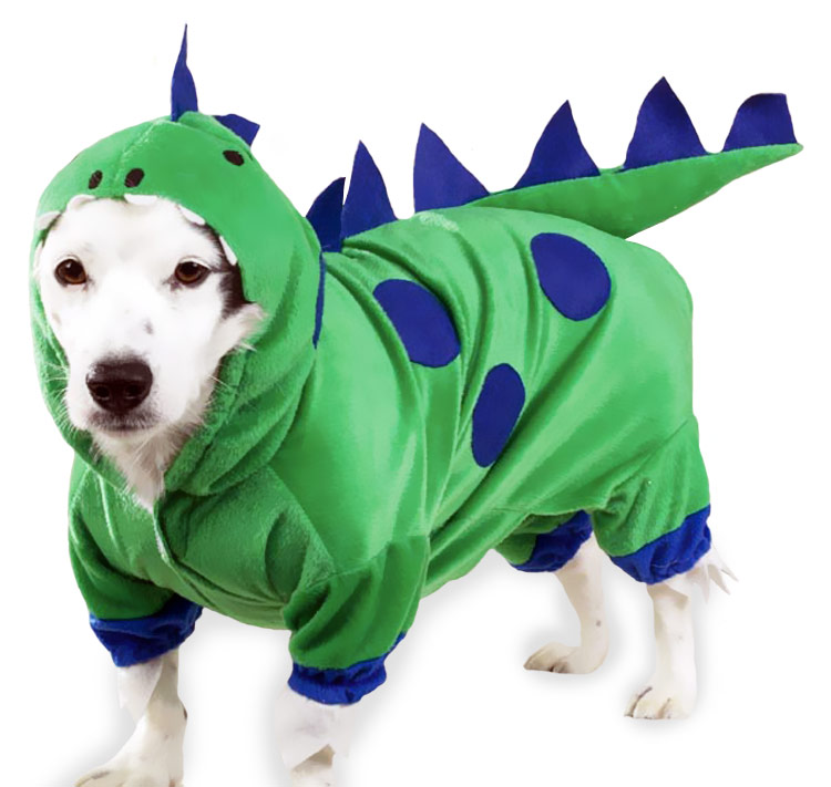Casual Canine Dogzilla Dinosaur Costume - XSMALL