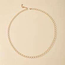 Circle Design Waist Chain