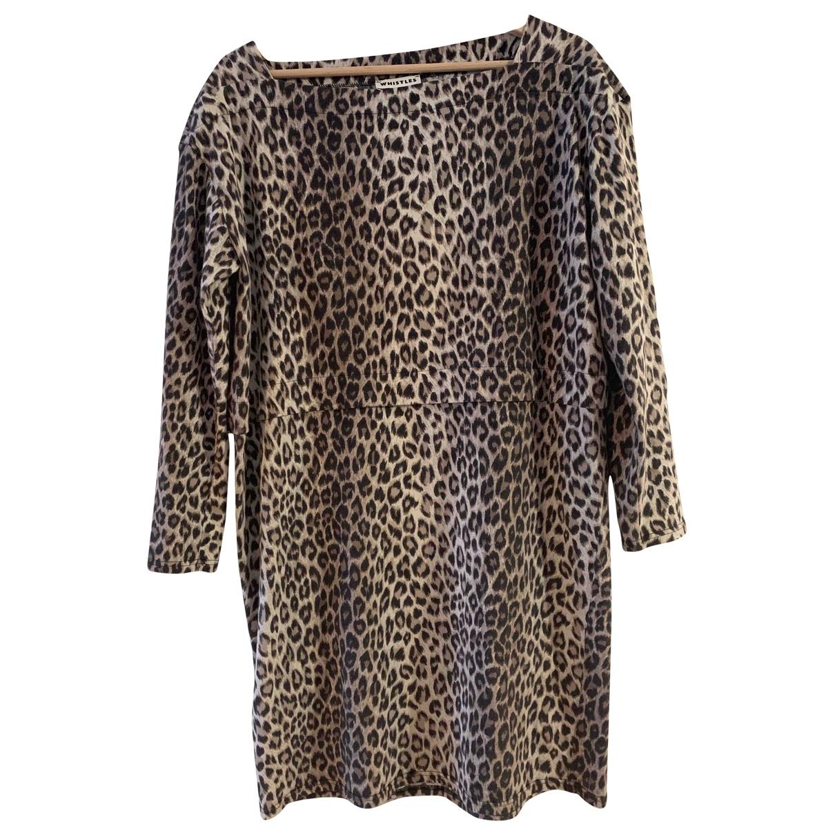 Whistles \N Multicolour Cotton - elasthane dress for Women 12 UK