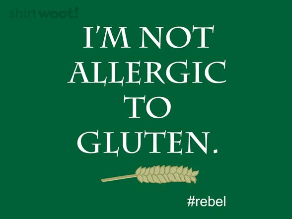Gluten Rebel T Shirt
