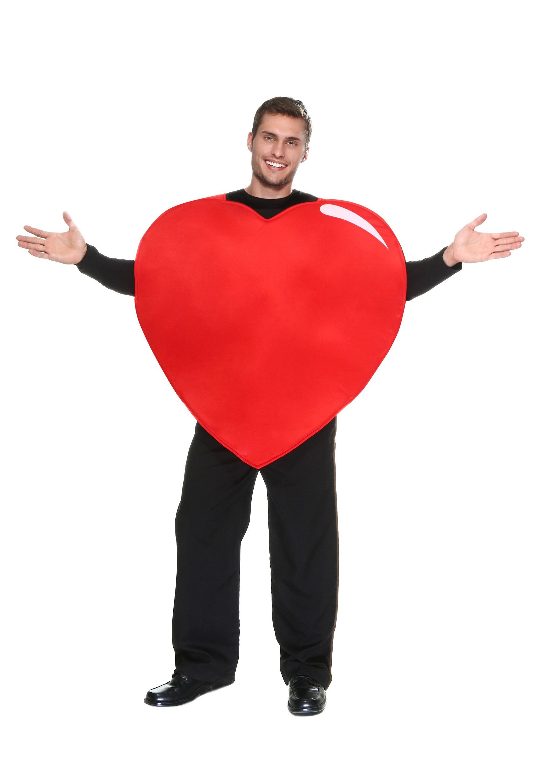 Adult Giant Heart Costume | Adult Funny Halloween Costumes